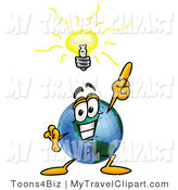 Royalty Free Light Bulb Stock Travel Designs.