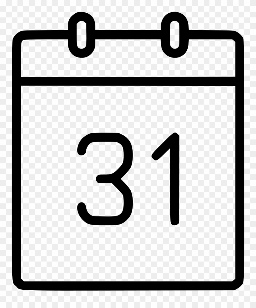 Calendar Date Schedule Event Month Year Svg Png Icon Clipart.