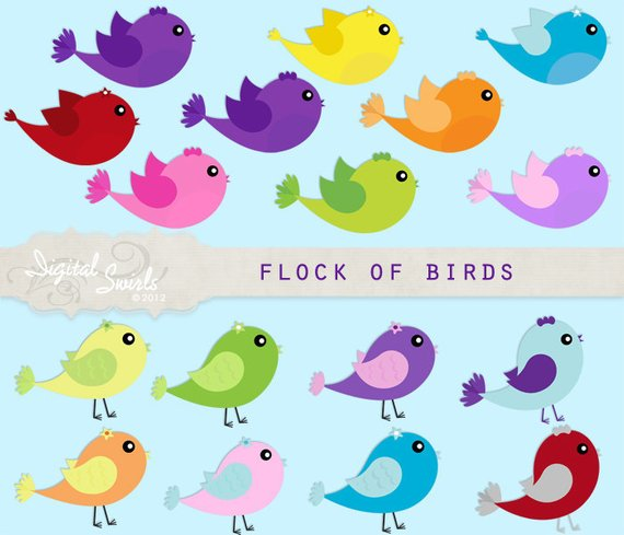 Flock of Birds.