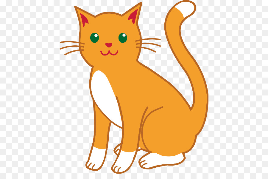 Cartoon Cat clipart.