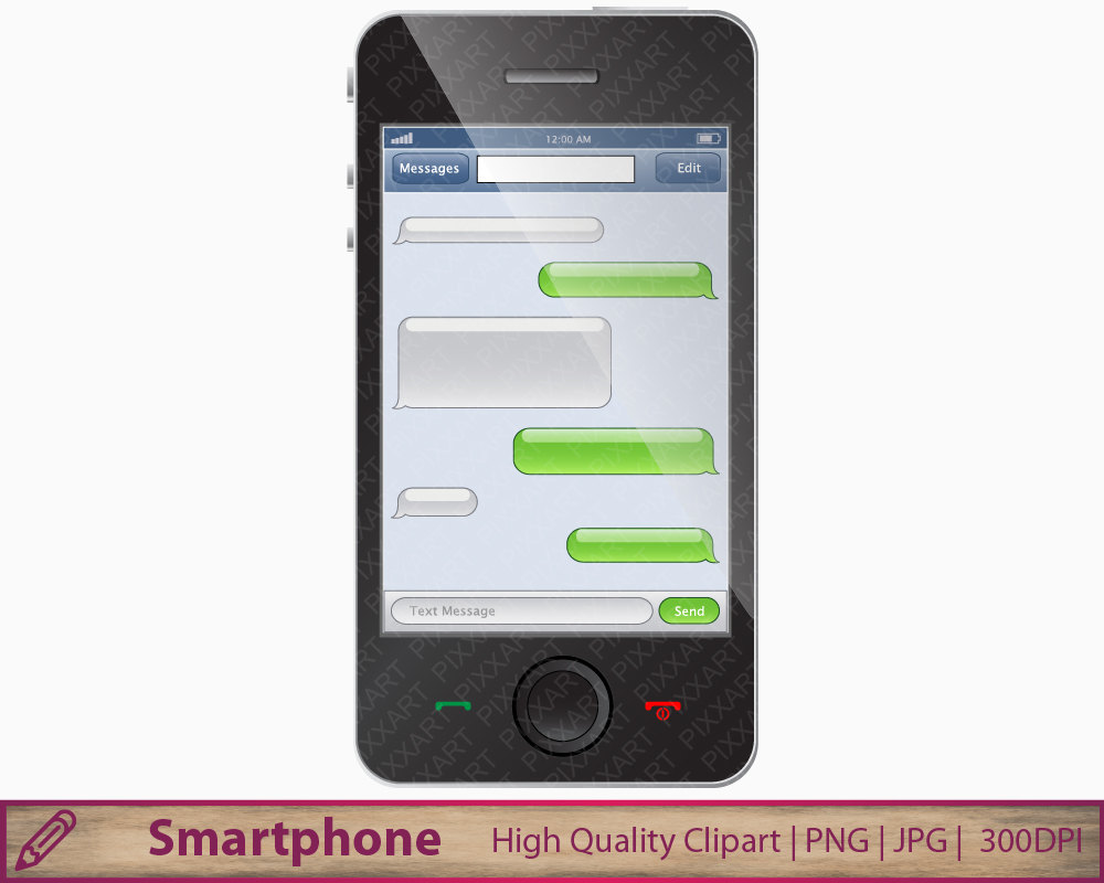 Clipart For Cell Phone Texting.