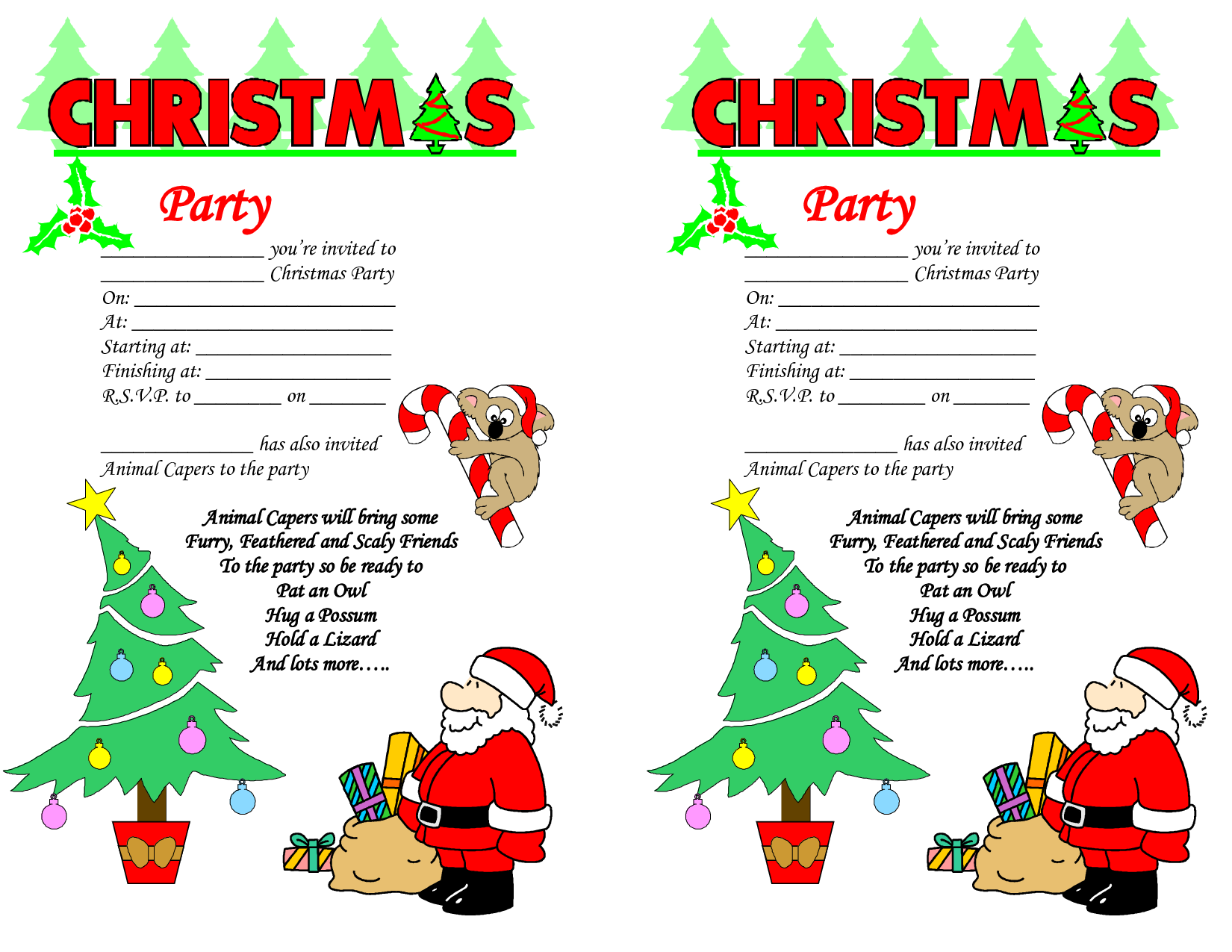 Funny Work Christmas Party Invitations Wording - Life Style By ...