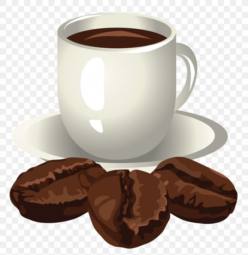 Coffee Cup Cappuccino Tea Clip Art, PNG, 3338x3438px, Coffee.