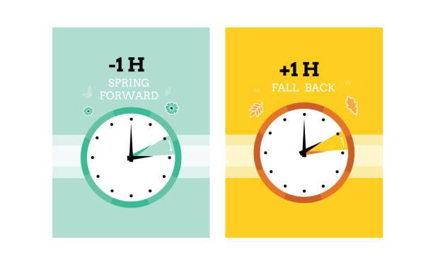 Best Daylight Saving Time Illustrations, Royalty.