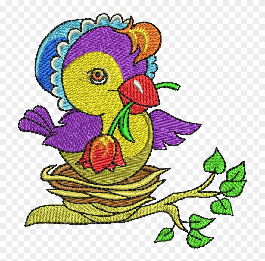Clipart For Embroidery Digitizing.