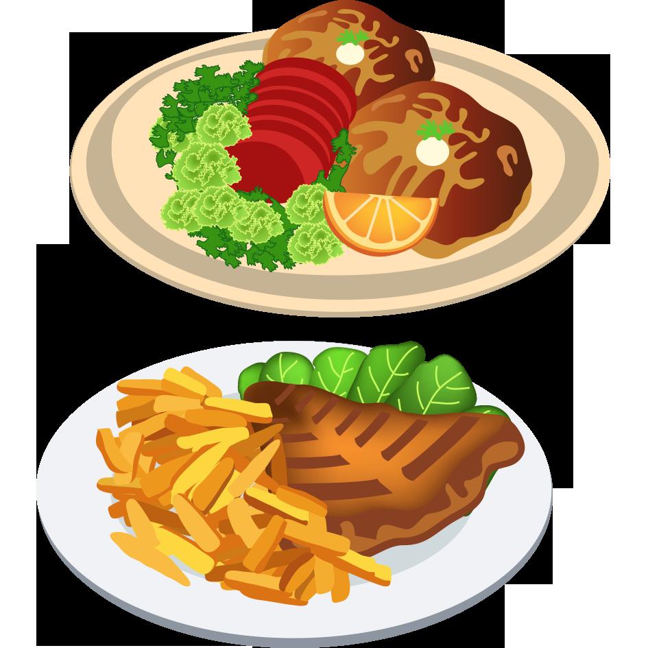 Foods clipart dinner, Foods dinner Transparent FREE for.