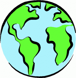 Half Earth Clipart.