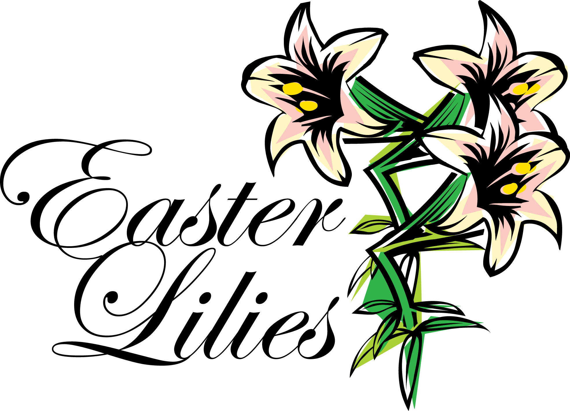 Free Easter Lily Clipart.