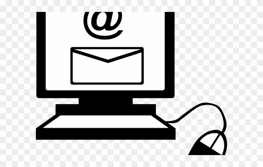 Computer Clipart Email.