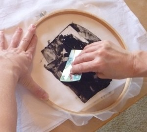 DIY Small Batch Screen Printing Tutorial — Using Embroidery Hoops.