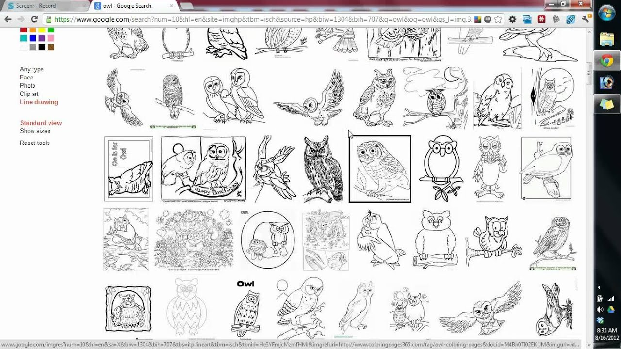 Finding Good Quality Images for Embroidery Digitizing using google image  search.