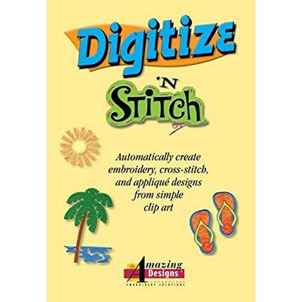 Amazing Designs Digitize N Stitch Software.