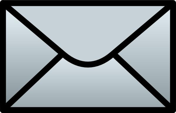 C Schmitz Closed Envelope Clip Art at Clker.com.
