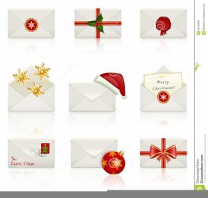 Christmas Clipart For Envelopes.