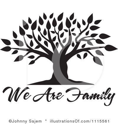 Blank Family Tree Clip Art.
