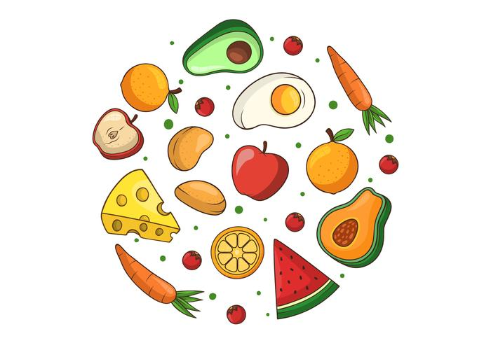 Healthy Food Clipart.