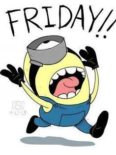 Finally Friday Clipart.