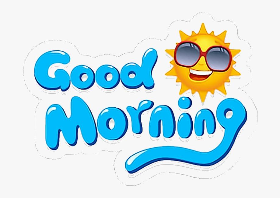 Good Morning Goodmorning Buenosdias Stickers Clipart.