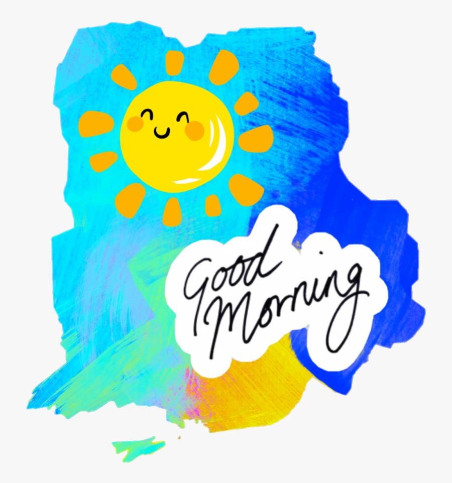 Good Morning Laptop Sleeve Clipart Transparent Png.