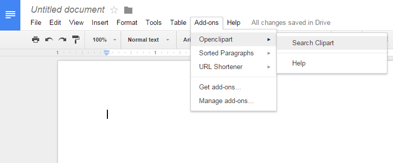 How to insert clipart images in Google Docs [Tip].