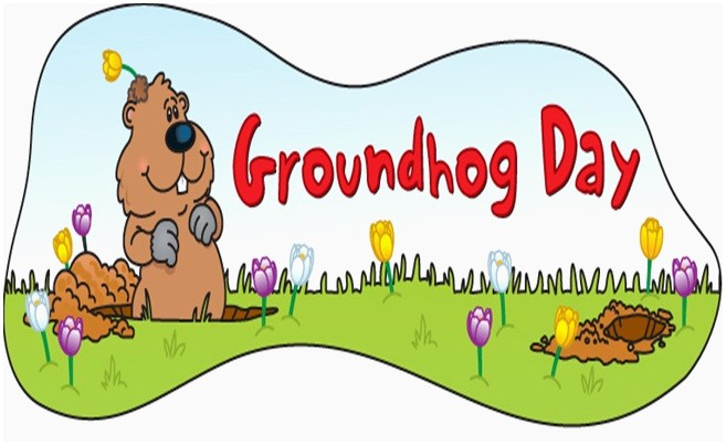 Groundhog Day Clipart Best of Free Groundhog Day Clipart.
