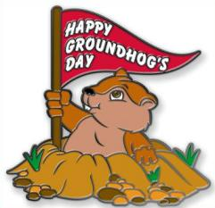 Free Groundhog Day Clipart.