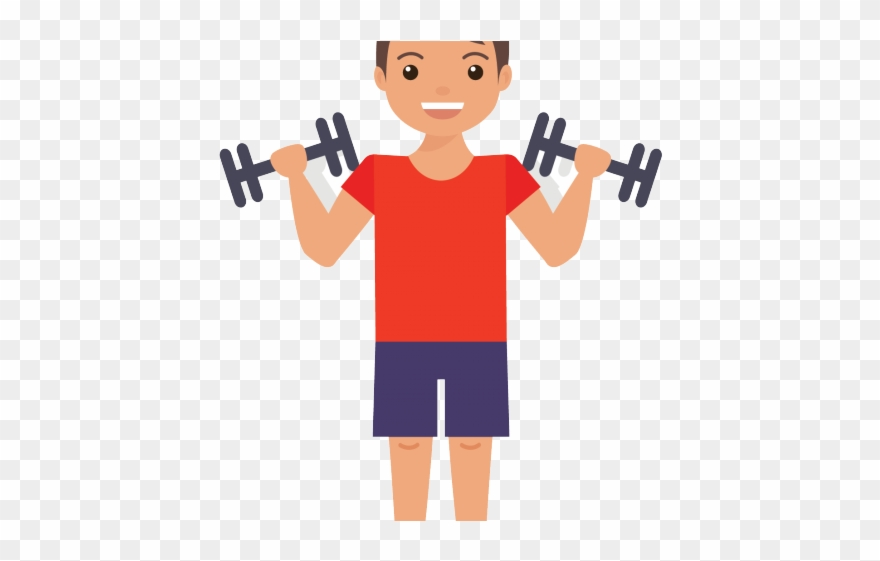 Dumbbells Clipart Gym Item.