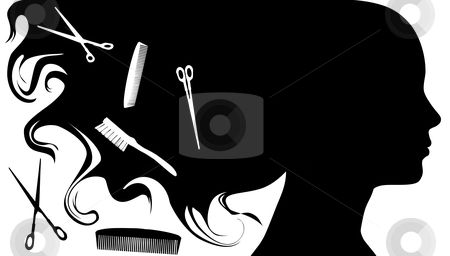 hair salon pictures clip art.