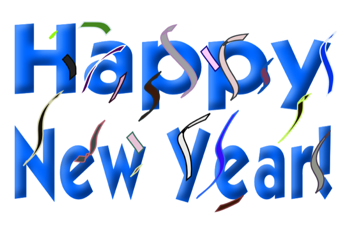 Happy New Year Clipart and Animations.