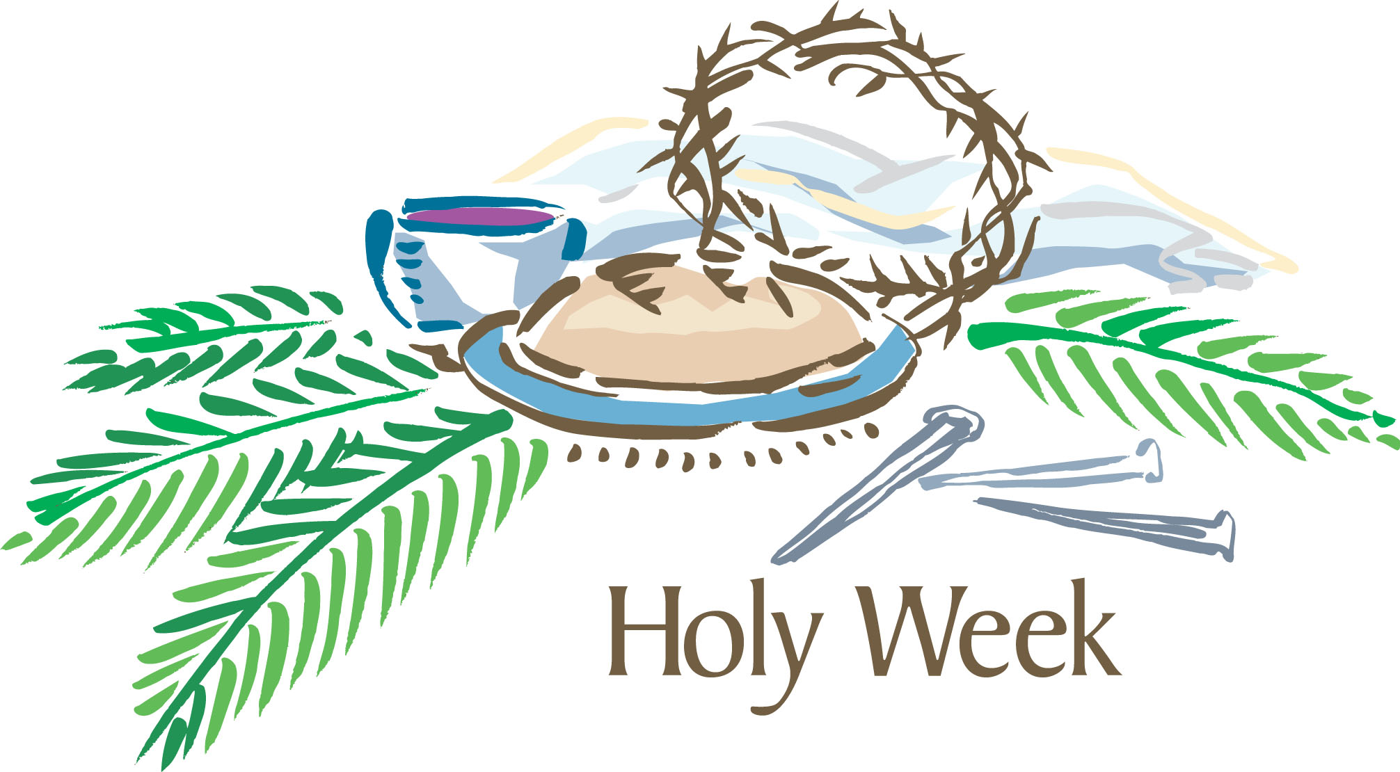 Religious Clipart For Holy Week.