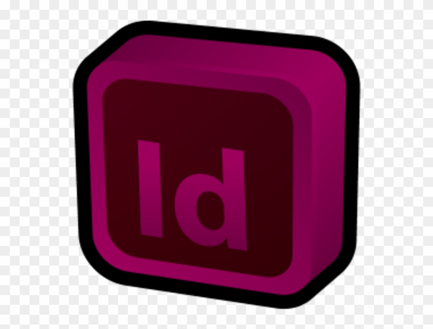 Adobe Indesign Icon 3d Clipart (#851118).