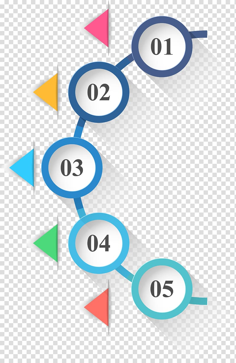 Infographic Circle Icon, Circles and triangles infographics.