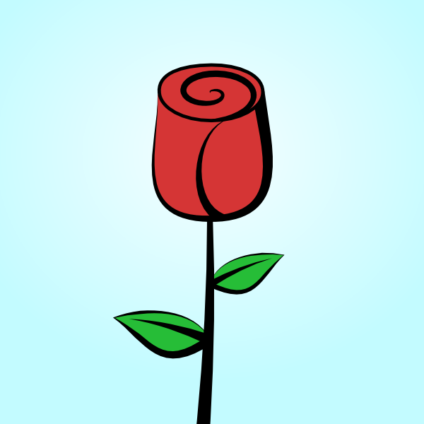 How to Draw a Rose in Inkscape.