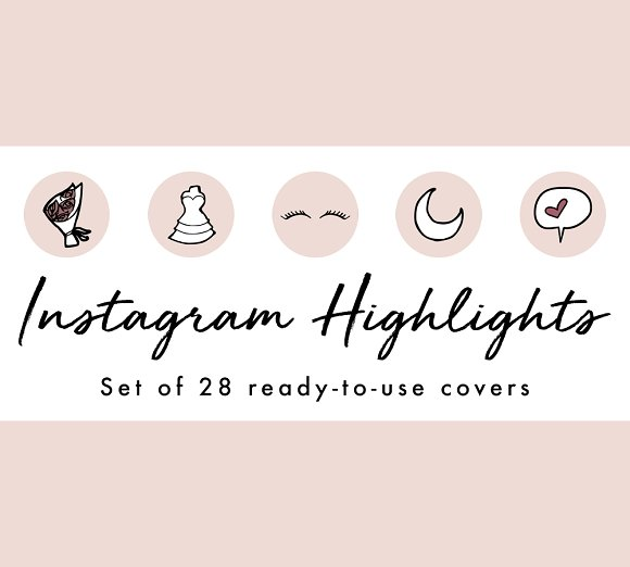 20 Brilliant Instagram Highlight Icon Sets for Brands.