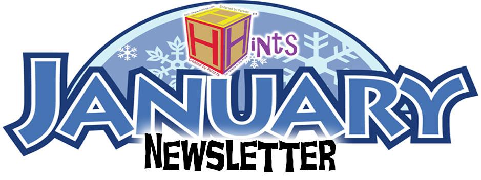 January Newsletter Clipart.