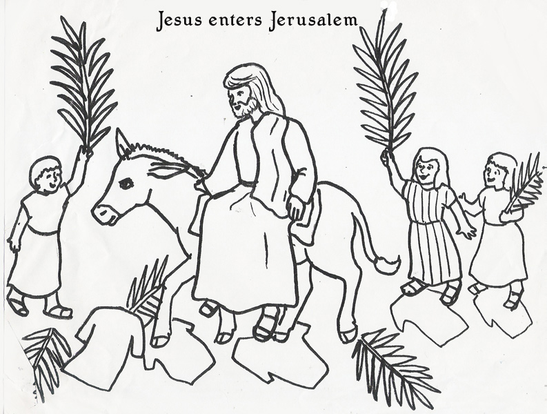 Similiar Triumphal Entry Into Jerusalem Craft Keywords.