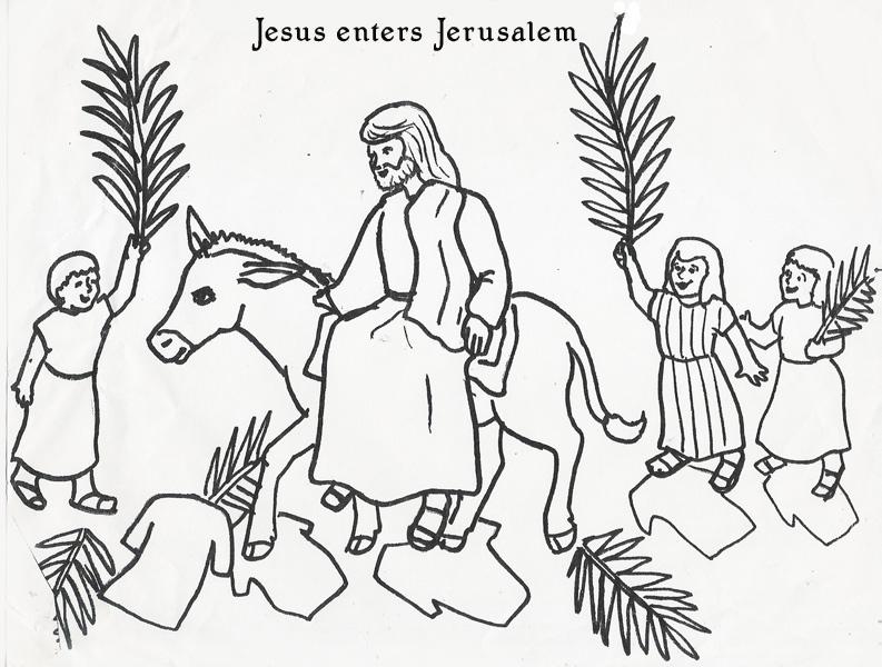 Similiar Triumphal Entry Into Jerusalem Craft Keywords.