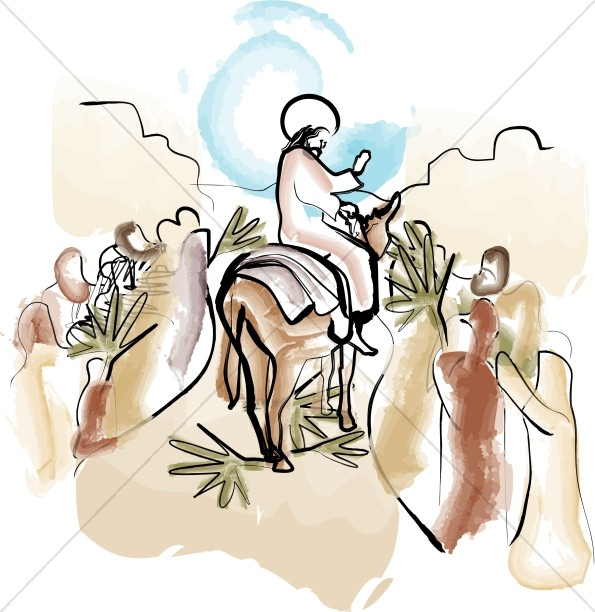 Palm Sunday Clipart, Palm Sunday Images.