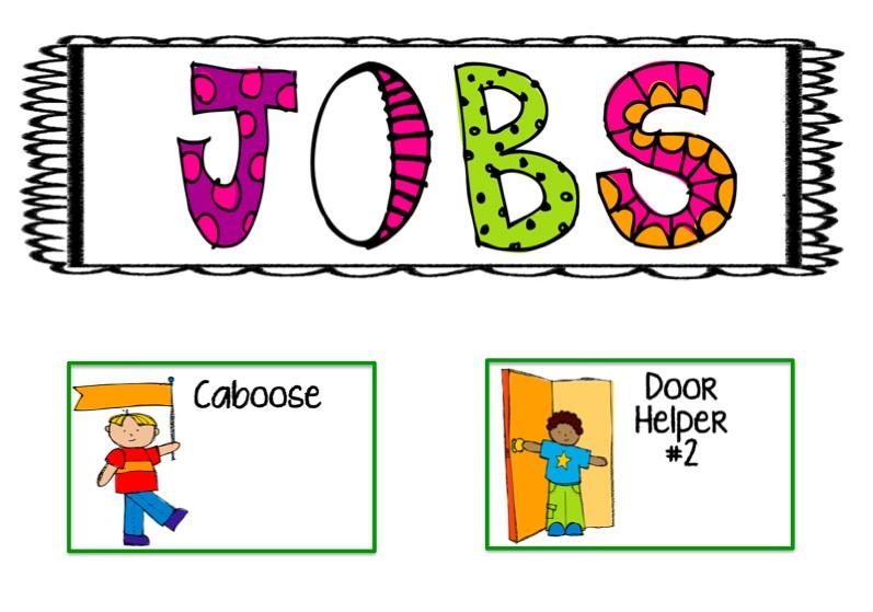 Job Chart Clipart.