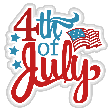 4th of July SVG scrapbook title independence day svg cut files.