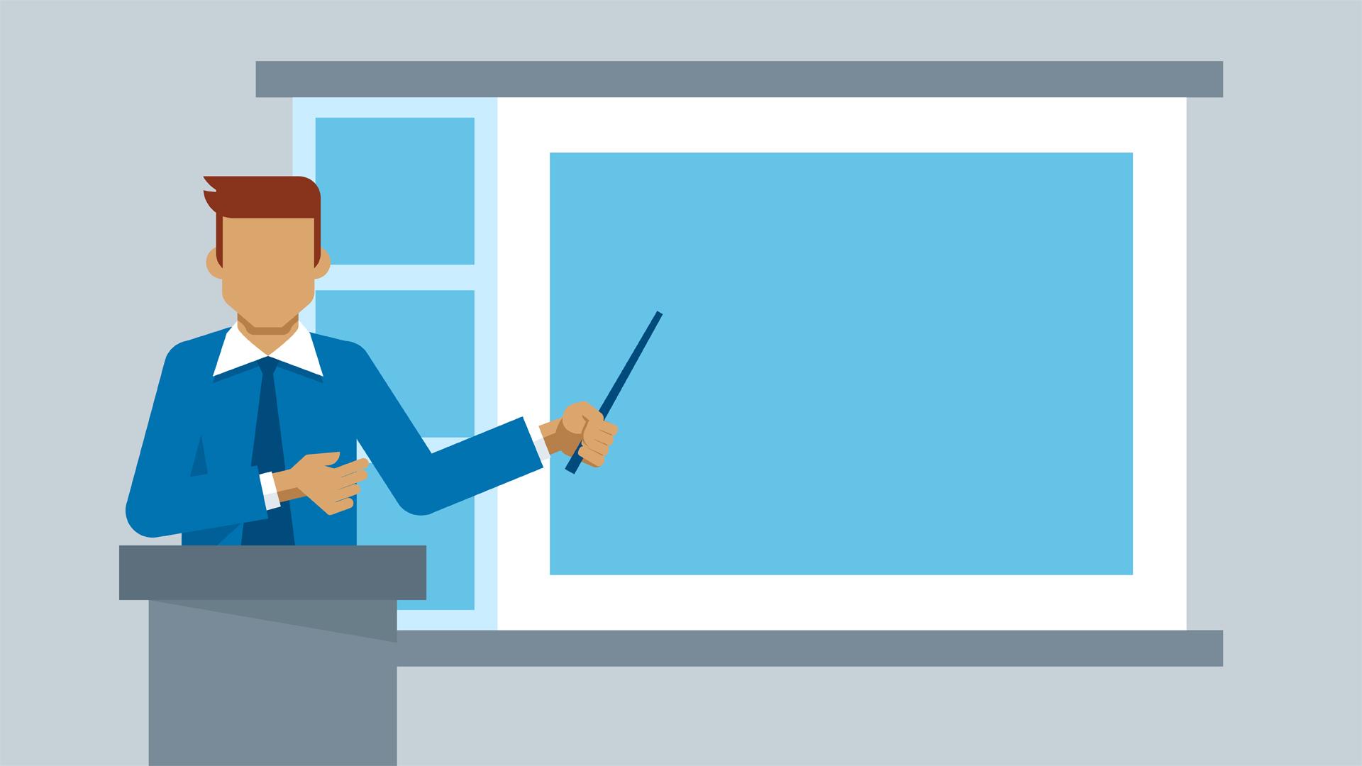 Keynote 6: Delivering Presentations.