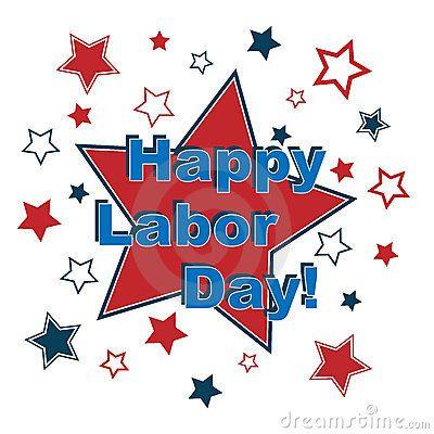 Happy Labor Day Clip Art.