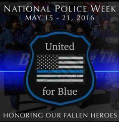 2016 Law Enforcement Memorial Day Clipart.