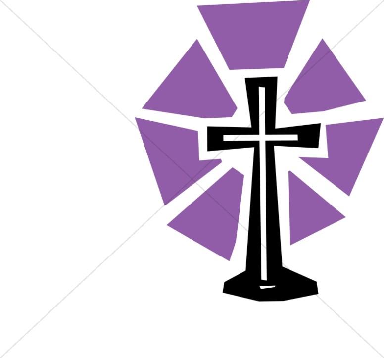 Lent Clipart Purple.