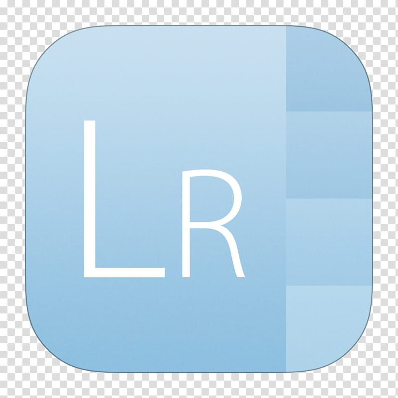 IOS Adobe Icon Set (. and .icns), Lightroom transparent.