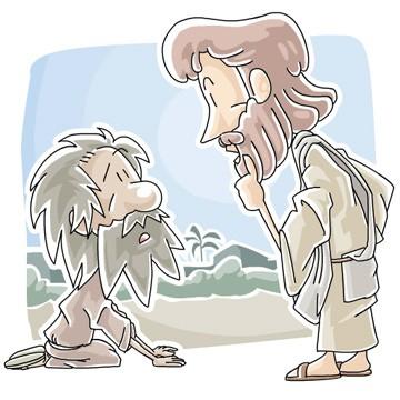 Sunday School Lesson (Luke 17:11.