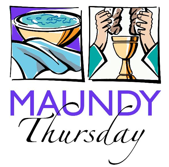 Maundy Thursday Clipart.