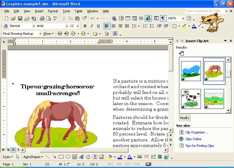 What Is Clipart In Ms Word.