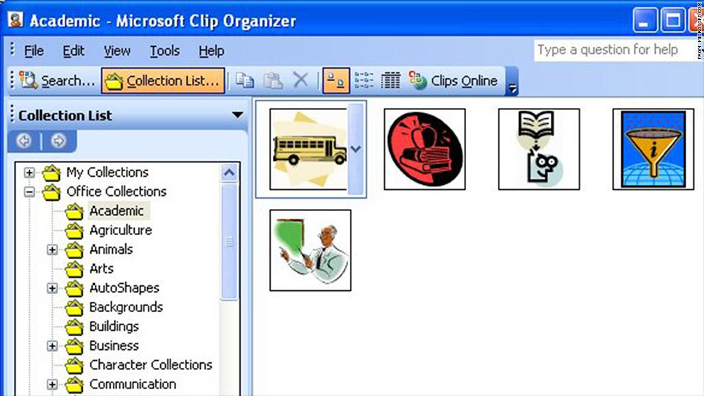 Clipart Microsoft Word 2016.