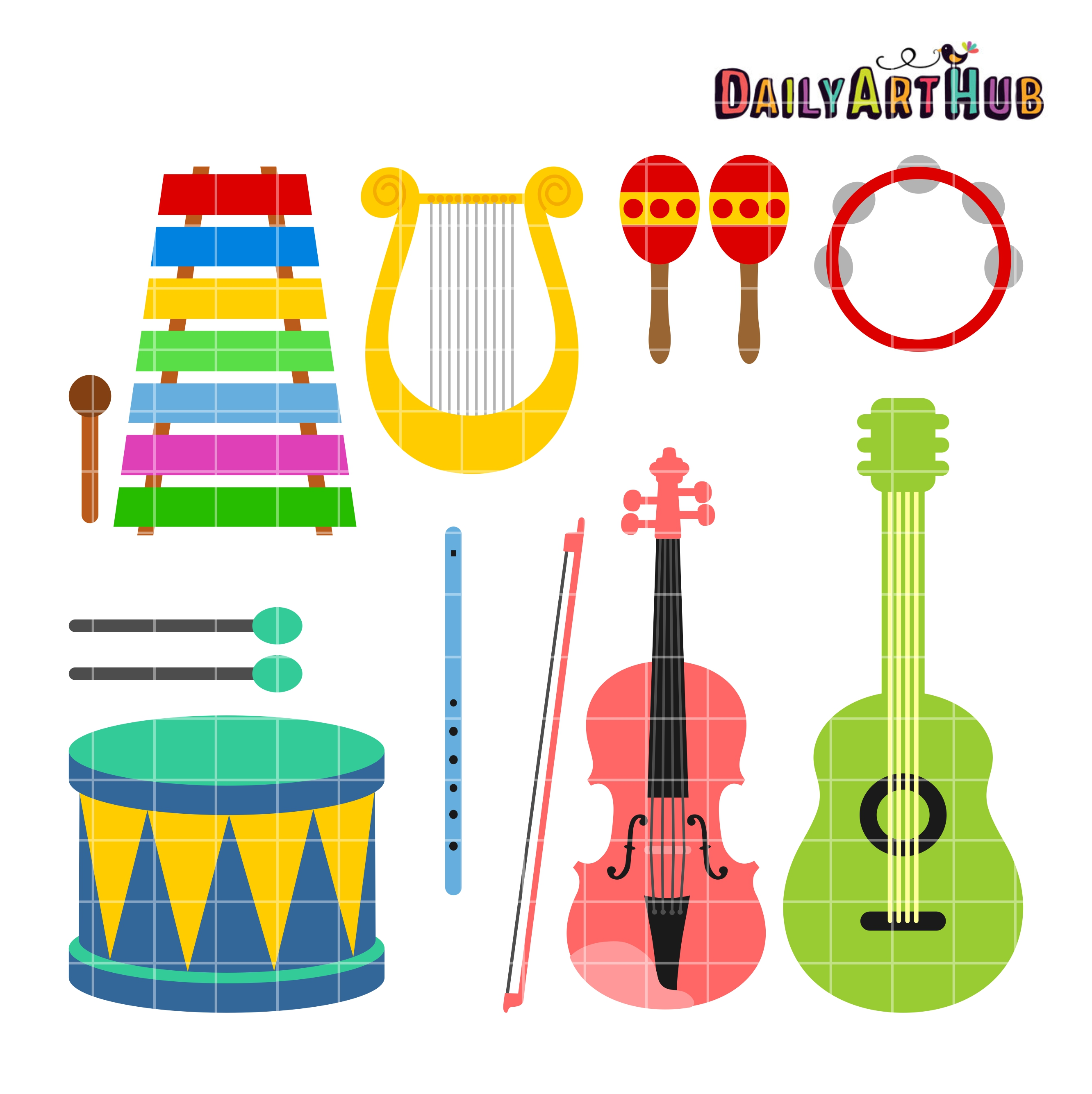 Clipart Musical Instruments.